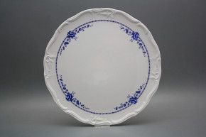 Cake dish 32cm Marie Louise Royal Blue BB