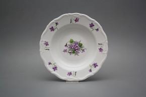 Deep plate 23cm Marie Louise Violets JBB