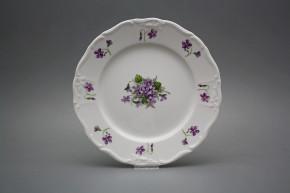 Flat plate 25cm Marie Louise Violets JBB