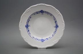 Deep plate 23cm Maria Louise Royal Blue BB