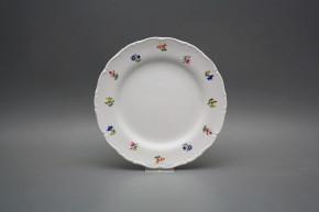 Dessert plate 19cm Ofelia Flower sprays ABB