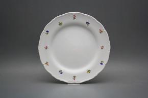 Flat plate 25cm Ofelia Flower sprays ABB