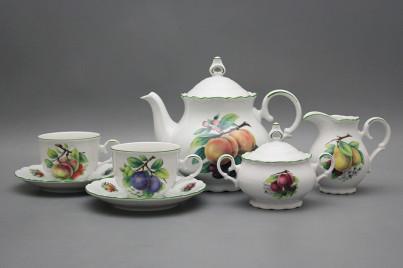 Tea set Ofelia Fruits 15-piece ZL č.1