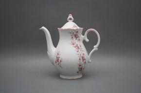 Coffeepot 1,2l Ofelia Pink roses RL