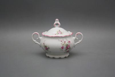 Sugar bowl 0,24l Ofelia Pink roses RL č.1