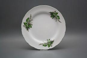 Flat plate 25cm Ofelia Lillies of Valley CZL