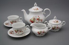 Tea set Ofelia Strawberries 15-piece BB