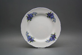 Flat plate 25cm Ofelia Forgel-me-not EAL