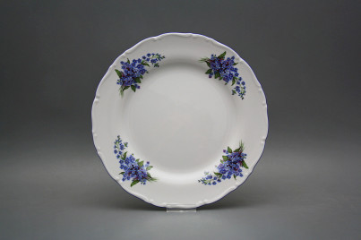 Flat plate 25cm Ofelia Forgel-me-not EAL č.1