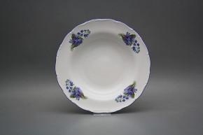 Deep plate 23cm Ofelia Forget-me-not EAL