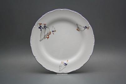 Flat plate 25cm Ofelia Geese CML č.1
