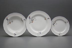 Plate set Ofelia Geese 18-piece CML