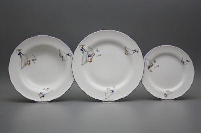 Plate set Ofelia Geese 36-piece CML č.1