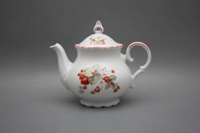 Teapot 1,2l Ofelia Strawberries CL