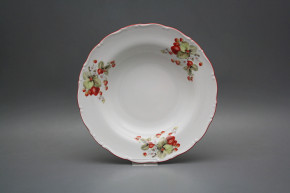Deep plate 23cm Ofelia Strawberries CCL