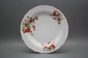 Flat round dish 31cm Verona Strawberries CCL