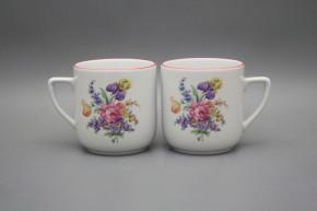 Mug Petka 0,4l Bouquet with irisies RL