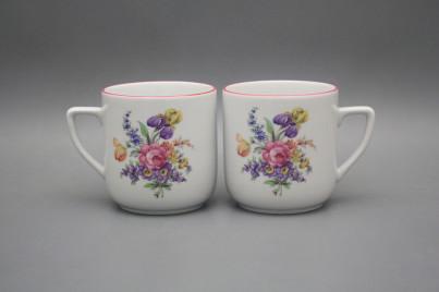 Mug Petka 0,4l Bouquet with irisies RL č.1