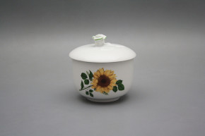 Sugar bowl 0,2l without handles Rokoko Sunflowers ZL