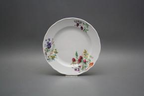 Dessert plate 19cm Rokoko Flowering meadow CBB