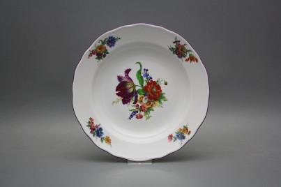 Deep plate 24cm Rokoko Bouquet GFL č.1
