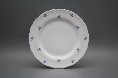 Flat plate 25cm Ofelia Forgel-me-not Sprays ABB č.1