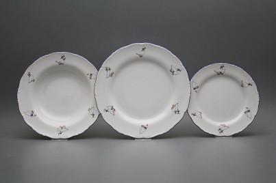 Plate set Ofelia Geese 12-piece AML č.1