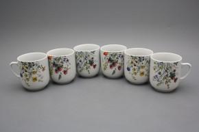Mug Trojka 0,3l Flowering meadow BB