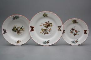 Plate set Ofelia Birds 18-piece GCL