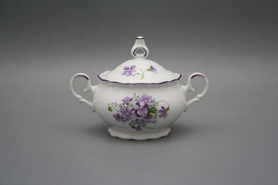 Sugar bowl 0,24l Ofelia Violets FL č.1
