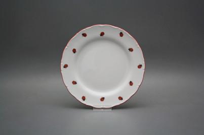 Dessert plate 19cm Ofelia Ladybirds ACL č.1