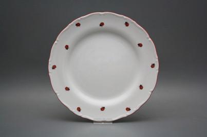 Flat plate 25cm Ofelia Ladybirds ACL č.1