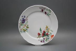 Flat plate 26cm Rokoko Flowering meadow CBB