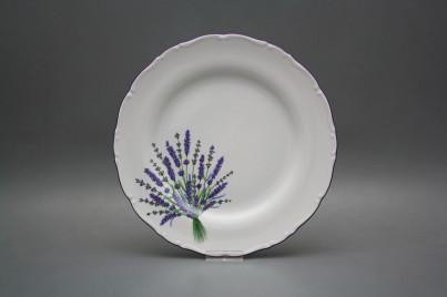 Flat plate 25cm Ofelia Lavender HFL č.1