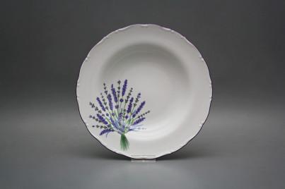 Deep plate 23cm Ofelia Lavender HFL č.1