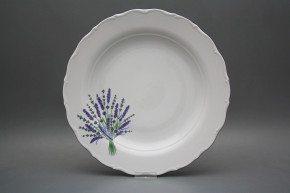 Flat round dish 31cm Verona Lavender HFL