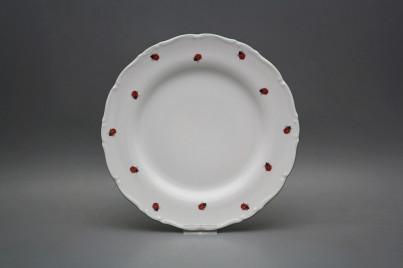 Flat plate 25cm Ofelia Ladybirds AZL č.1