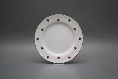 Dessert plate 19cm Ofelia Ladybirds AZL č.1