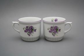 Peasant mug 0,42l Violets FL