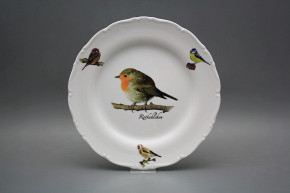 Flat plate 25cm Ofelia Robin GBB