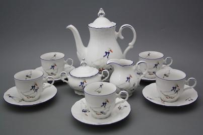 Coffee set Ofelia Geese 15-piece ML č.1