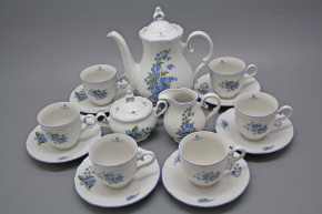 Coffee set Ofelia Forget-me-not 15-piece AL
