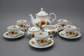 Tea set Ofelia Sunflowers 15-piece ZL