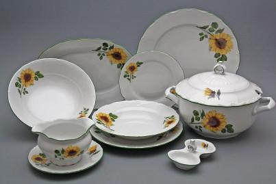 Dining set Ofelia Sunflowers 25-piece DZL č.1