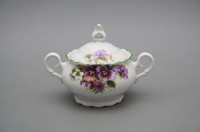 Coffee sugar bowl 0,24l Ofelia Pansy ZL č.1