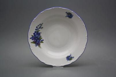 Deep plate 23cm Ofelia Forget-me-not CAL č.1