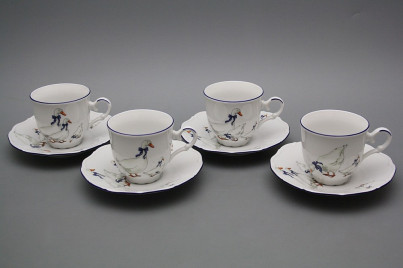 Cup high 0,135l with saucer Ofelia Geese ML č.1