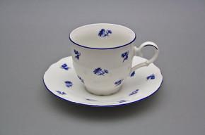 Coffee cup 0,18l and saucer Ofelia Meadow flowers Sprays ML