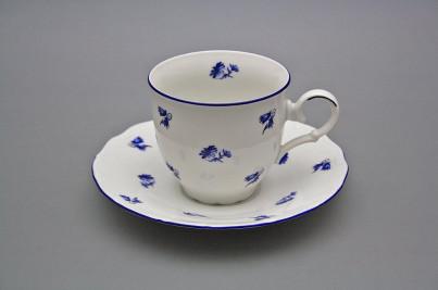 Coffee cup 0,18l and saucer Ofelia Meadow flowers Sprays ML č.1