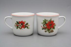 Mug Varak 0,65l Poinsettia CL
